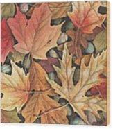 Leaf It To Me Wood Print