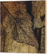 Leafwood Wood Print