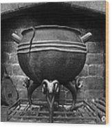 Leaky Cauldron Wood Print
