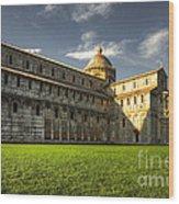Leaning Tower Of Pisa  Wood Print