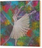 Leap Into Color Wood Print