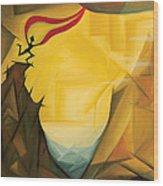 Leap Of Faith Wood Print by Tiffany Davis-Rustam