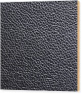 Leather Background Wood Print