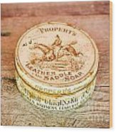 Leather Saddle Soap Wood Print