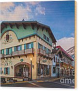 Leavenworth Alps Wood Print