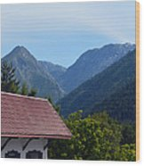 Leavenworth Wood Print