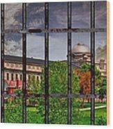 Leavenworth Federal Prison Wood Print