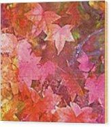 Leaves 6 Wood Print