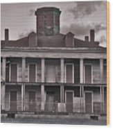 Louisiana Plantation House Wood Print