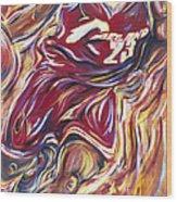 Lebron Guess Who Series Wood Print