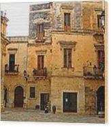Lecce Stone Wood Print