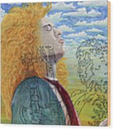 Led Zeppelin Wood Print