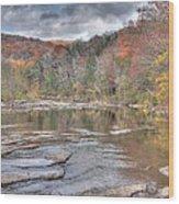 Lee Creek Wood Print