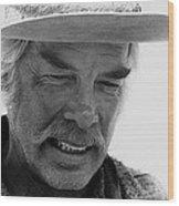 Lee Marvin Monte Walsh Variation 1 Old Tucson Arizona 1969-2012 Wood Print