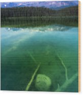 Leech Lake Wood Print