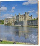 Leeds Castle Moat 2 Wood Print