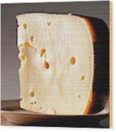Leerdammer Cheese, Prague, Czech Wood Print