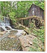 Lefler Grist Mill Wood Print