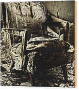 Left Behind-series 01 Wood Print