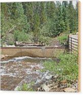 Left Hand Ditch Water Wars Wood Print