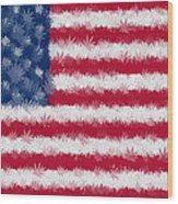 Legalize This Flag Wood Print