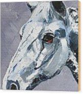 Legend - Sport Horse Wood Print