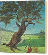 Legendary Archer Wood Print