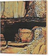 Legendary Lost Dutchman Mine Wood Print