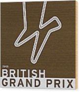 Legendary Races - 1948 British Grand Prix Wood Print