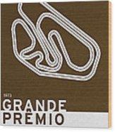Legendary Races - 1973 Grande Premio Do Brasil Wood Print