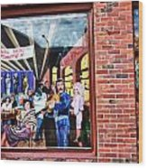 Legends Bar In Downtown Nashville Wood Print