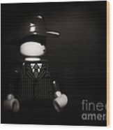 Lego Film Noir 1 Wood Print