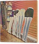 Legs 846a Wood Print