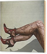 Legs Wood Print by Svetlana Sewell