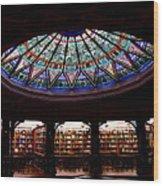 Lehigh University Bethlehem Linderman Library Wood Print