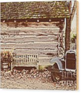 Leiper's Fork Wood Print by Jeff Holbrook