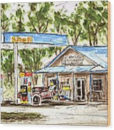 Leipers Fork Market Wood Print