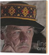 Lemko Grand Portrait By Adela . Wood Print