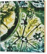 Lemon And Elderflower  Wood Print