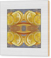 Lemon Drop Wood Print