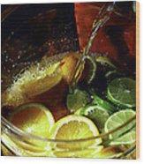 Lemon Limeade Wood Print