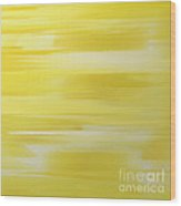 Lemon Slices Abstract Square Wood Print