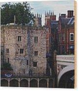 Lendal Tower York Wood Print