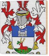 Lenihan Coat Of Arms Irish Wood Print