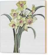 Lent Lily Wood Print