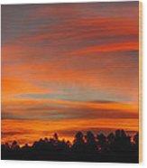 Lenticular Sunrise Wood Print
