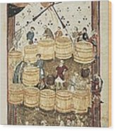 Lenzi, Domenico 14th Century. Specchio Wood Print
