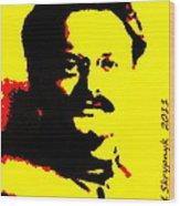 Leon Trotsky Wood Print