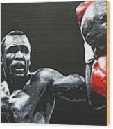Leonard Vs. Hagler 2 Wood Print