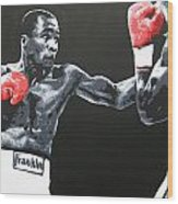 Leonard Vs Hagler Wood Print